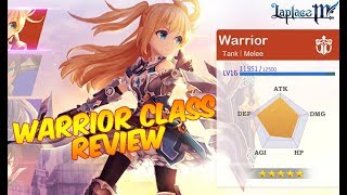 Laplace M Review Class Warrior !!! Android/iOS Game MMORPG
