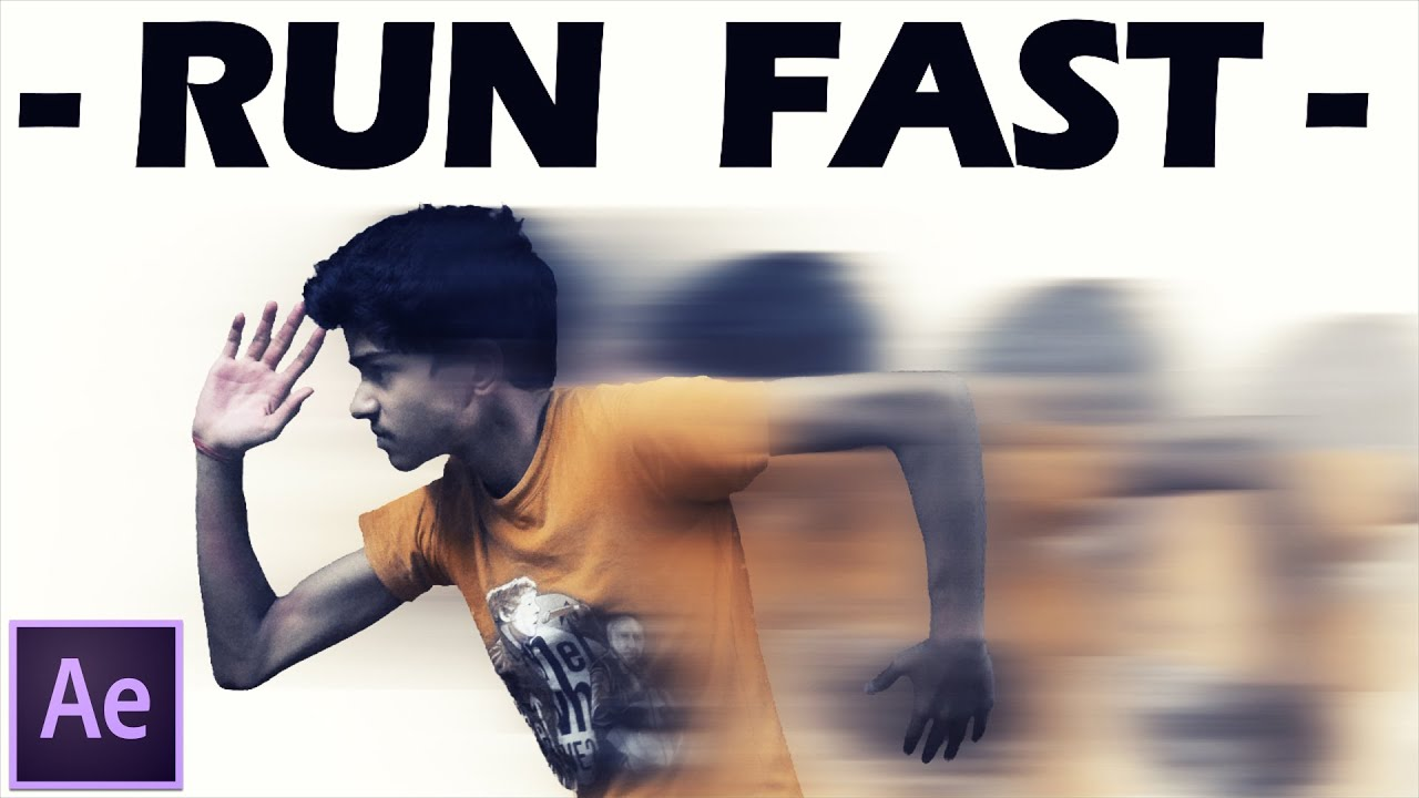 How To Run Very Fast?!  Flash & Quicksilver  Adobe After Effects  2017