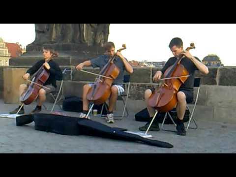 Metallica - One, Prague Charles Bridge Cover on Cello