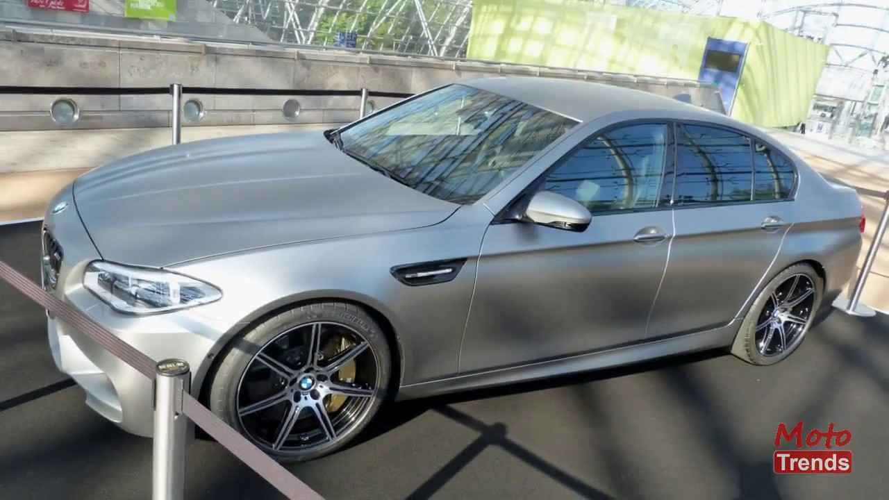 2015 BMW 30 Jahre Edition M5: 2014 Leipzig Auto Show