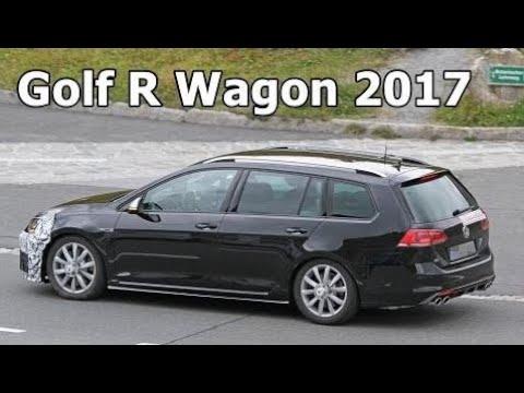 Top Cars 2017 Vw Golf R Wagon Facelift Nürburgring Video