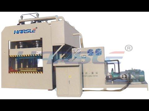 2500Tons steel door press making machine,large frame hydraulic ...