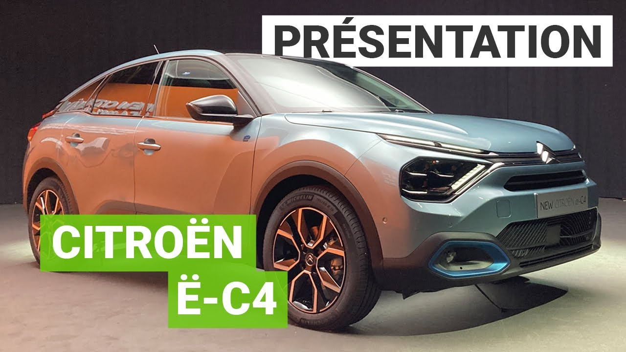 Nouvelle Citroën C4 électrique : la compacte met les watts