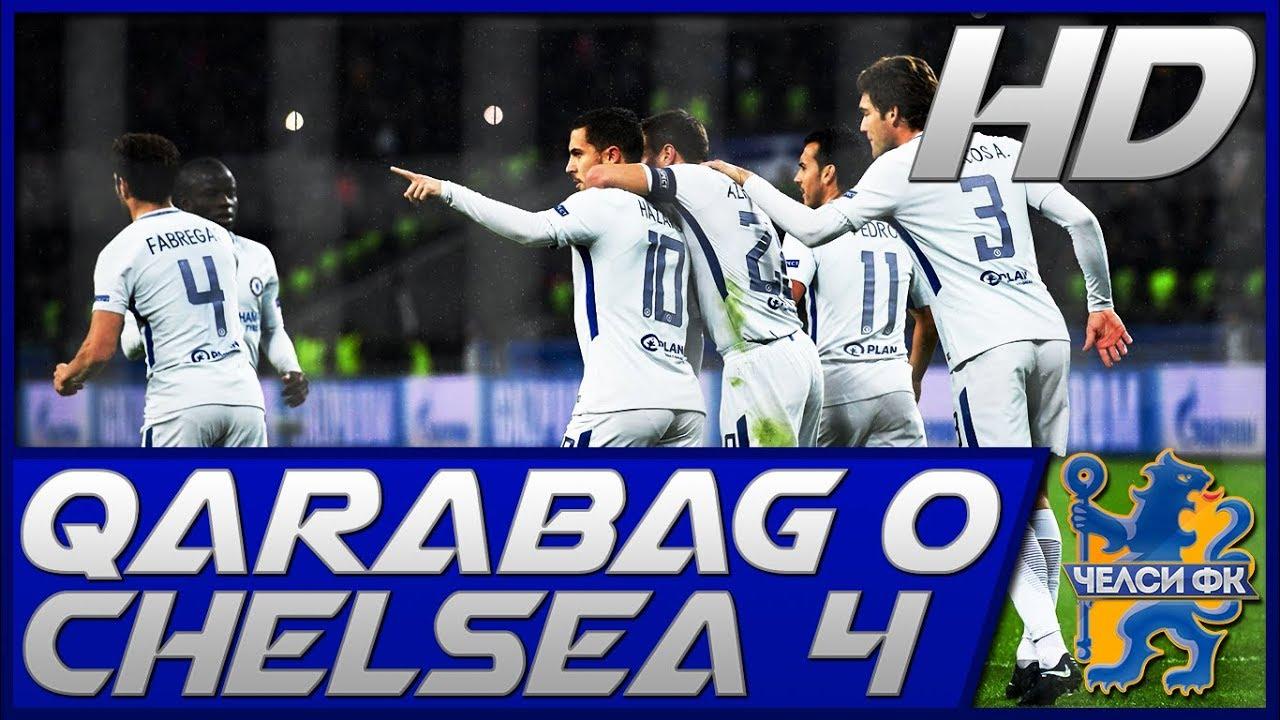 Download Qarabag 0-4 Chelsea |Highlights & Goals|