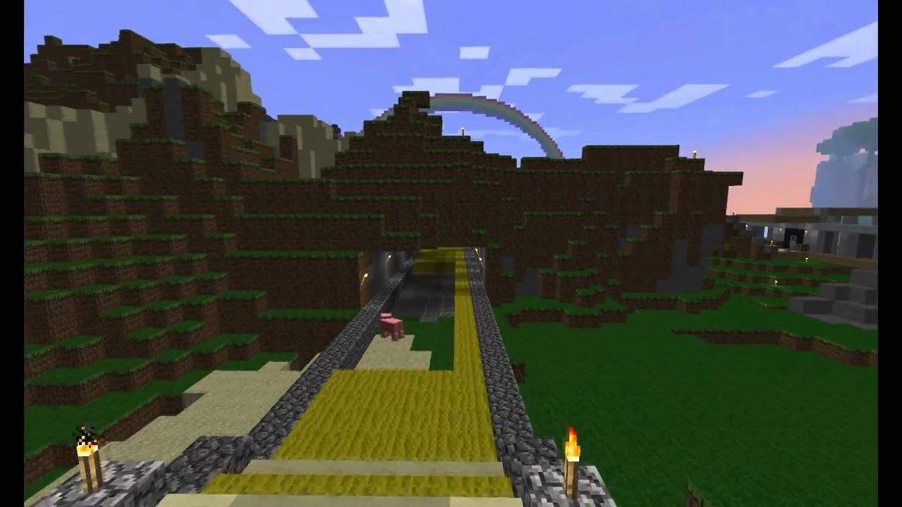 Minecraft Emerald City Wizard of Oz