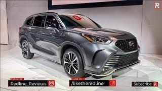 2021 Toyota Highlander XSE – Redline: First Look – 2020 Chicago Auto Show