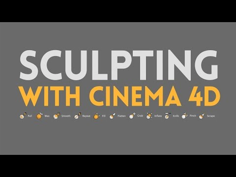Sculpting With Cinema 4D