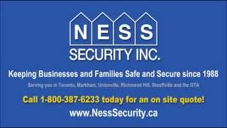 Business Home Security Systems Installation Toronto Markham Unionville Stouffville