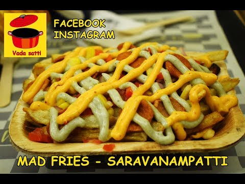 Fresh Potato Fries and Hand beaten Brownie in Coimbatore - Mad Fries