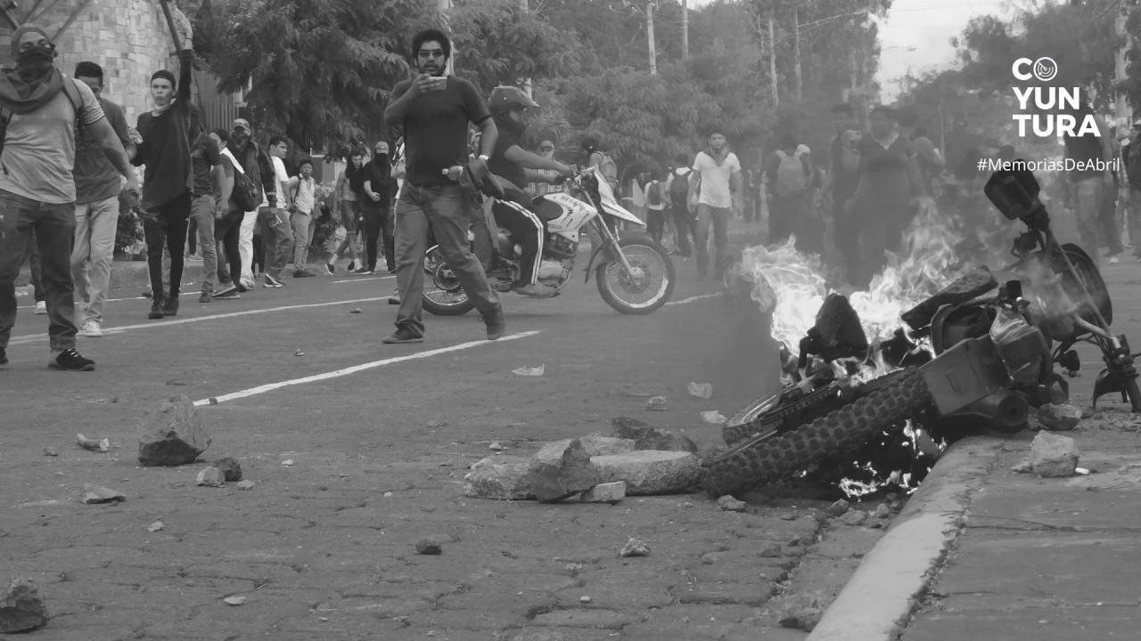 #MemoriasDeAbril: 19 de abril de 2018 en Managua, Nicaragua