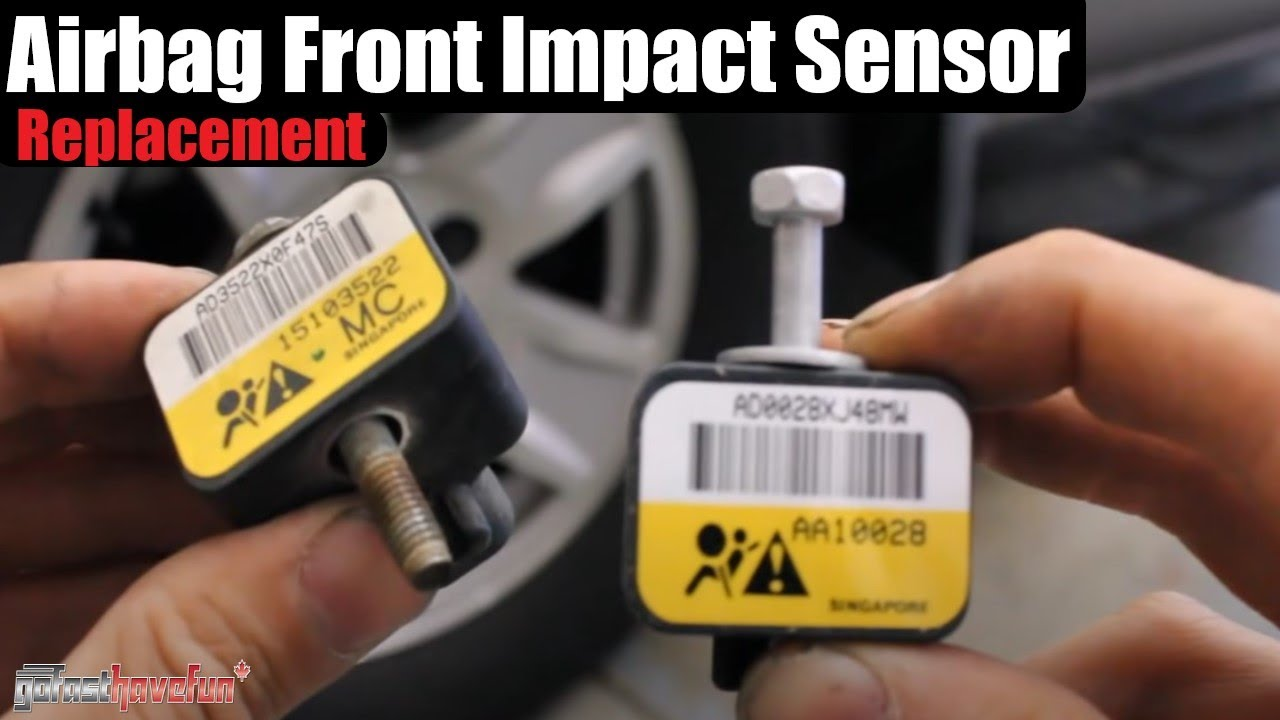small resolution of silverado sierra front impact airbag sensor
