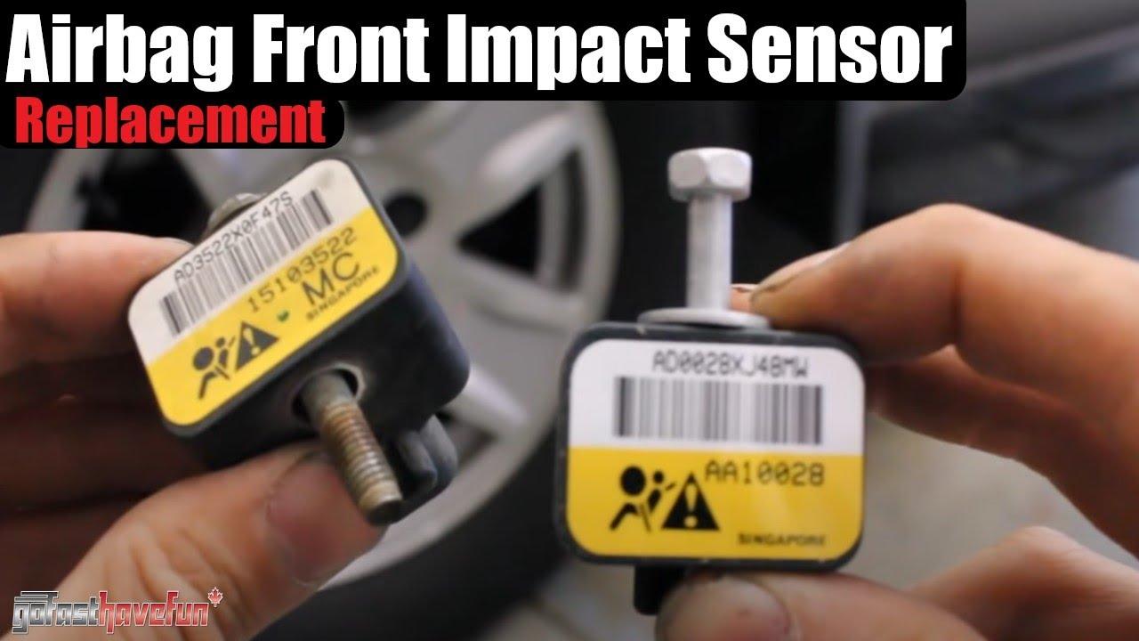 Silverado Sierra Front Impact Airbag Sensor Replacement