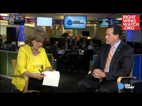 RWW News: Santorum Defends Perry For Calling Homosexuality A Choice