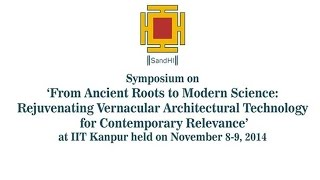 Thermal Control in Vernacular Architecture By Prof. Vinod Gupta