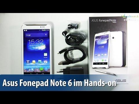 Asus Fonepad Note 6 FHD im Hands-on - Lutz Herkners Video-Blog | deutsch / german