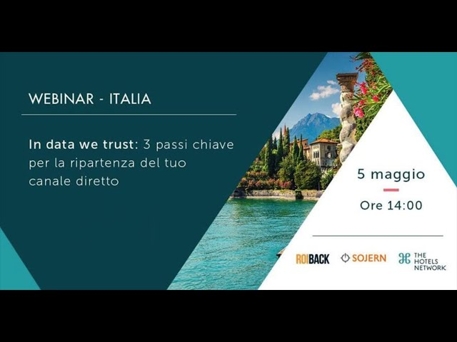 Webinar THN - Sojern - Roiback Italy