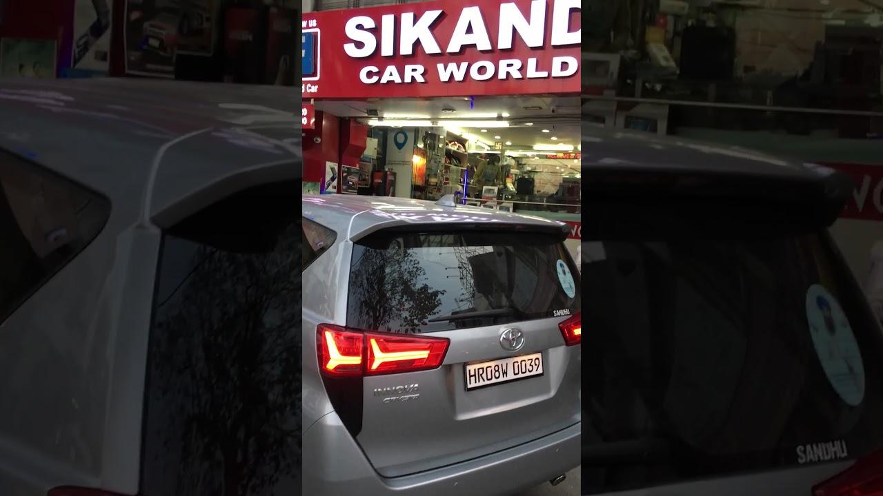 Innova Crysta Tail Lights At Sikand Car Ludhiana Youtube