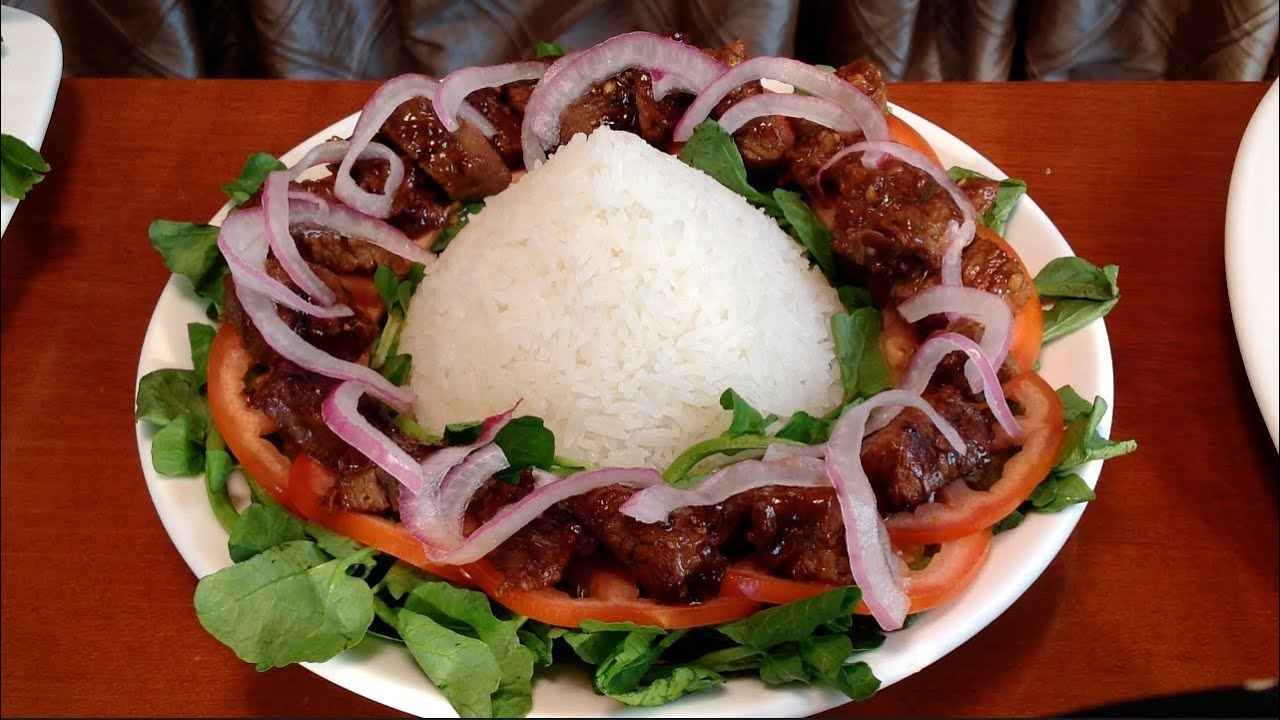 Vietnamese Food Recipes-Bo Luc Lac-How To Make Vietnamese Shaking Beef ...