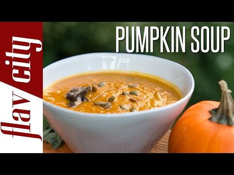 Roasted Pumpkin Soup – Recipes For Fall