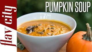 Roasted Pumpkin Soup - Recipes For Fall