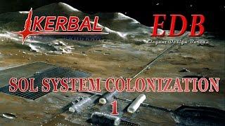 Sol System Colonization in KSP/RO - 01 (2015-10-25)