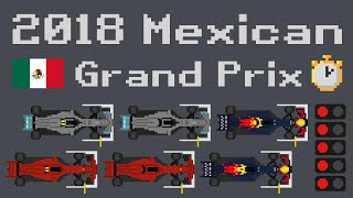 2018 Mexican Grand Prix Timelapse