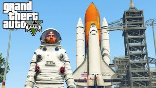 GTA 5 - GOING TO SPACE! Mars Rover GTA 5 Space Battles Mod (GTA 5 Mods)