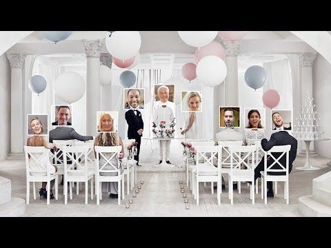 Ikea is now hosting online weddings using webcams