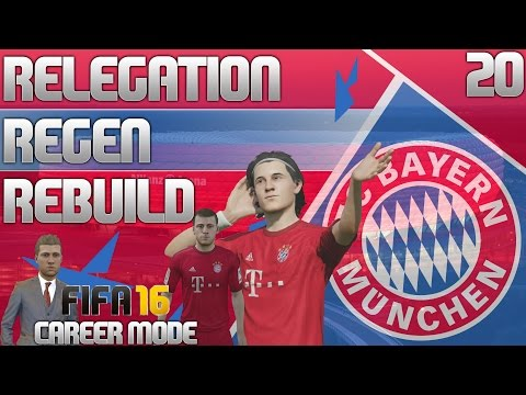 FIFA 16 Bayern Munich Career Mode - RRR - E20