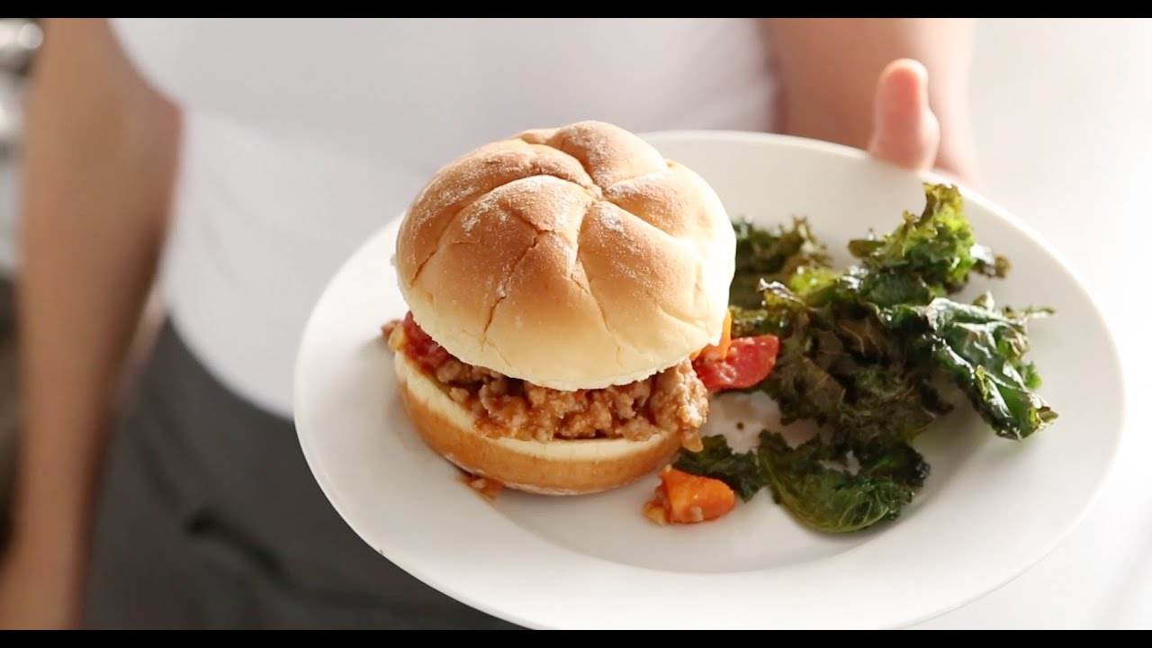 Turkey Sloppy Joes with Kale Chips | Everyday Food with Sarah Carey ...