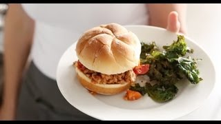 Turkey Sloppy Joes with Kale Chips | Everyday Food with Sarah Carey