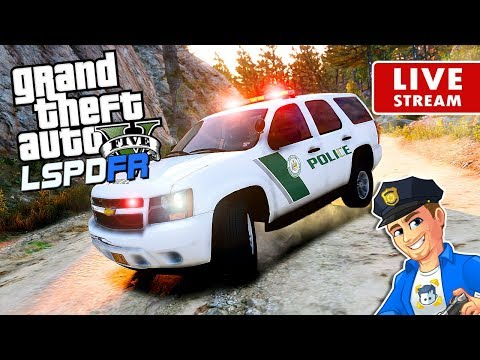 GTA 5 LSPDFR PARK RANGER PATROL New York State Park Police | GTA 5 LSPDFR Realistic Police Patrol