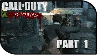 "Call of Duty Zombies Gameplay Part 1 - ""ZOMBIE HYPE"" (World at War - Der Riese)"
