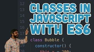ES6 - p5.js Öğretici ile JavaScript 6.2: Sınıflar