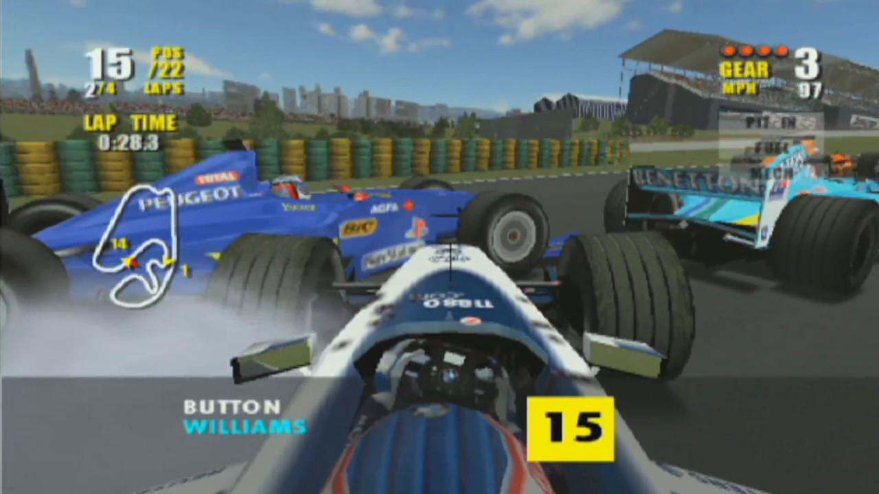 F1 Saison 2000