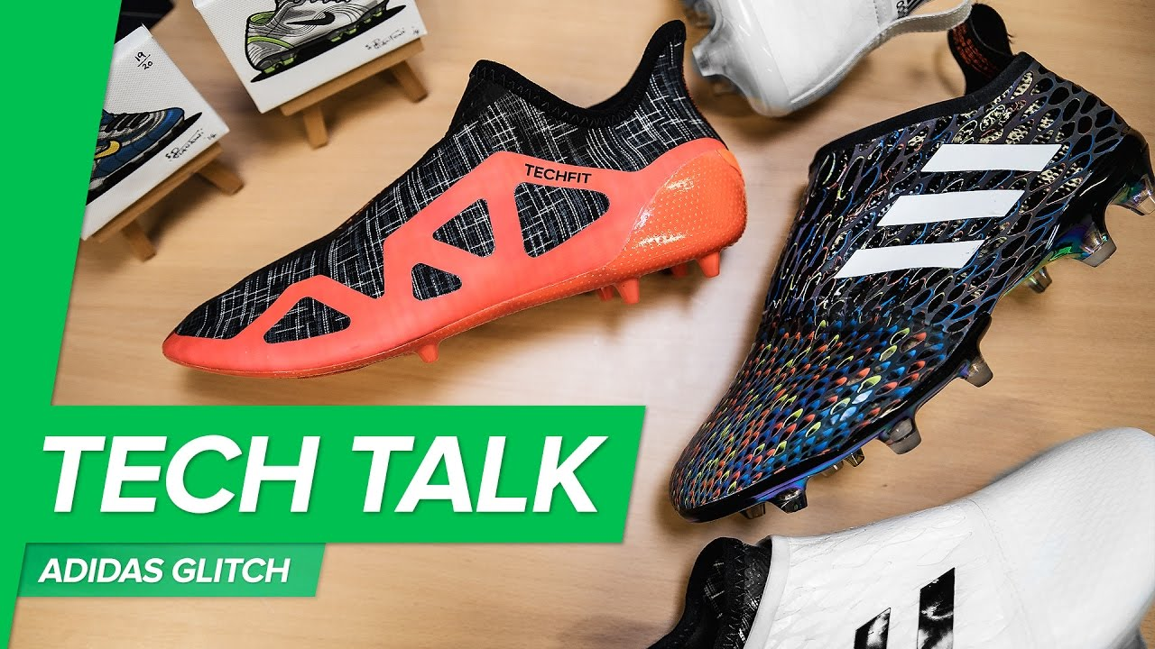 8a566d95e79 adidas GLITCH Tech Talk - build your own football boot   how to put on adidas  GLITCH - YouTube
