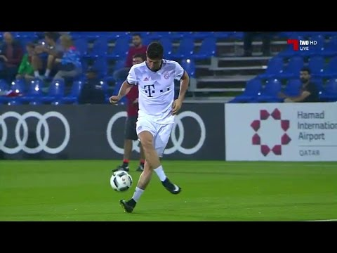 Robert Lewandowski vs KAS Eupen (Friendly 16-17) HD 720p (10/01/2017) by 1900FCBFreak
