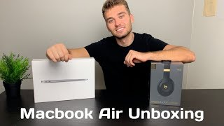2019 MACBOOK AIR UNBOXING & REVIEW   COLLEGE EDITION