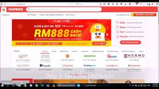 Make money online (Malaysia & Singapore) by online shopping! (2018)