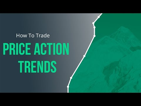 Naked Trading Part 1: How to Trade Price Action Trends in St