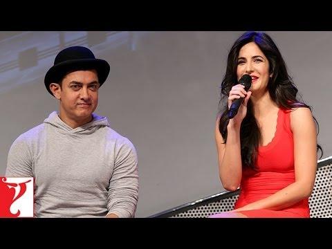 Launch Event: Merchandise & Technology   DHOOM:3   Aamir Khan   Katrina Kaif