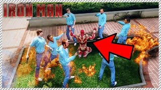 IRON MAN LIFE #4 - Iron Man Gets Taken Hostage!!!!