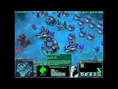 Starcraft 2 Worker Spam
