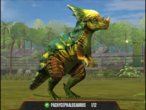 PACHYCEPHALOSAURUS Level 40 Jurassic World the Game