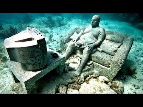 10 Самых Необычных Находок под Водой