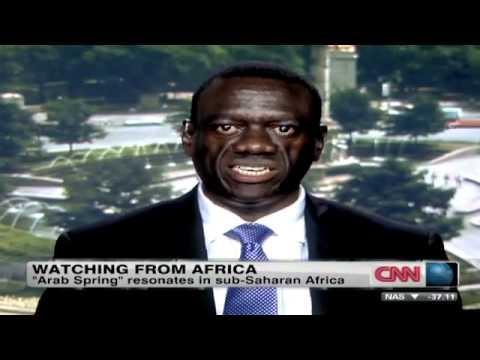 Uganda Kizza Besigye takes his message to a global platform on CNN.