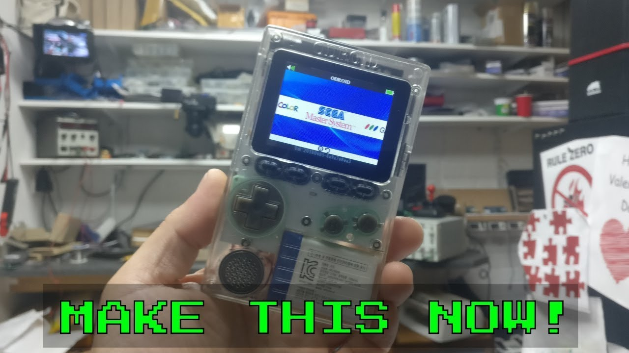 TDL- Retro Handheld you build yourself odroid Go!!
