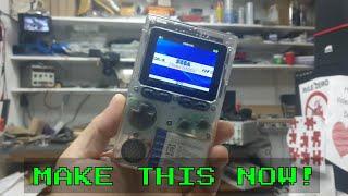 TDL- Retro Handheld you build yourself odroid Go!!