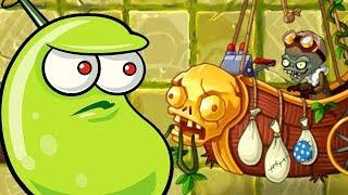 Lost City Zomboss Boss Fight - Plants Vs. Zombies 2 Gameplay German Video