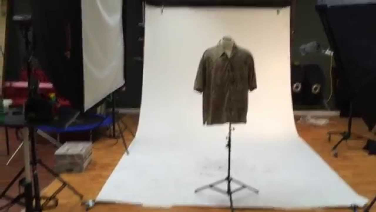 Photographing Clothing for Ebay Set Up - YouTube